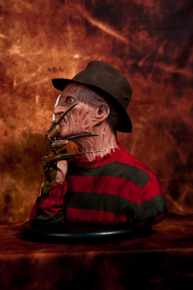 [Custom da Semana] 1:1 Silicone '85 Freddy Krueger Bust - Howard Studio FreddySil5