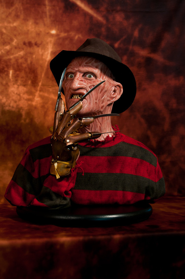 [Custom da Semana] 1:1 Silicone '85 Freddy Krueger Bust - Howard Studio FreddySil6