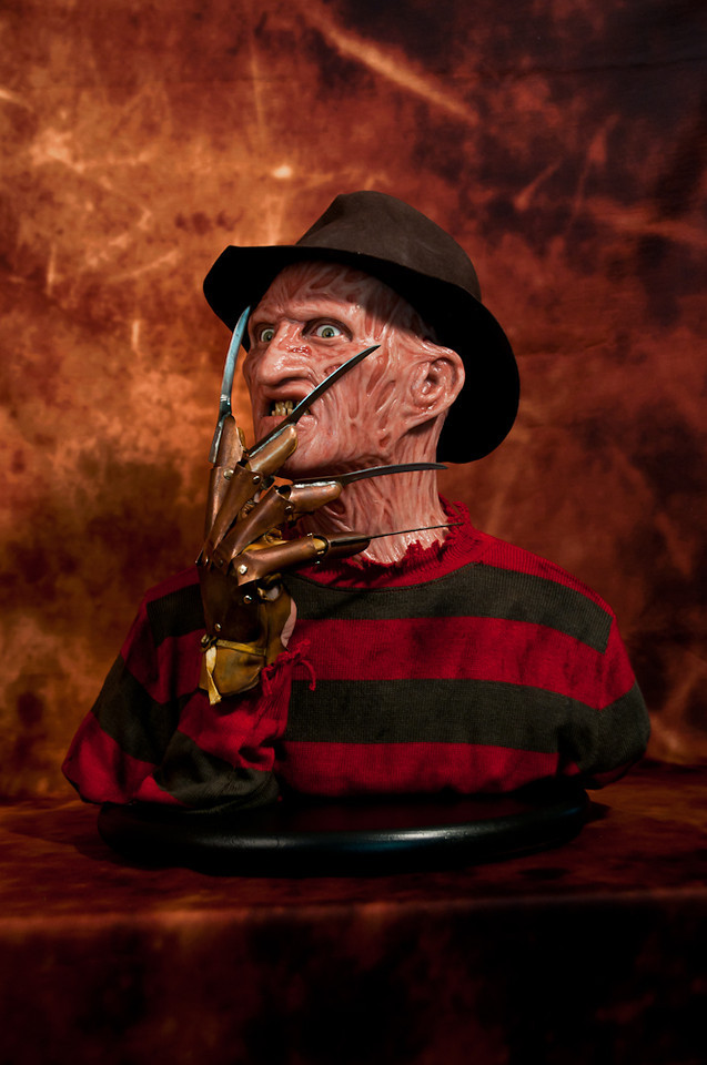 [Custom da Semana] 1:1 Silicone '85 Freddy Krueger Bust - Howard Studio FreddySil7